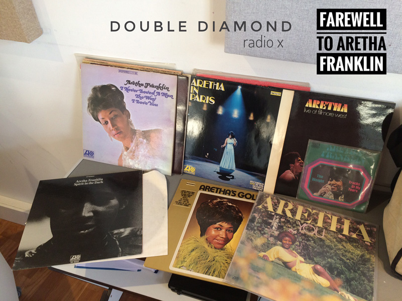 farewell to aretha franklin, double diamond auf radio x